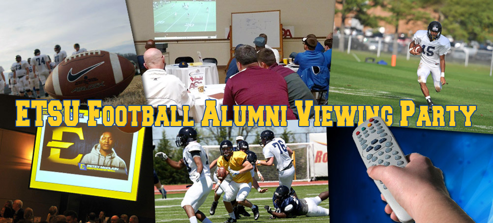 ETSU PRIDE Football Alumni Viewing Party