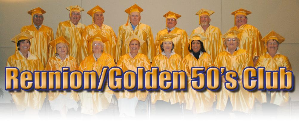 Golden Fifties Club - Class of 1965 it's your turn.