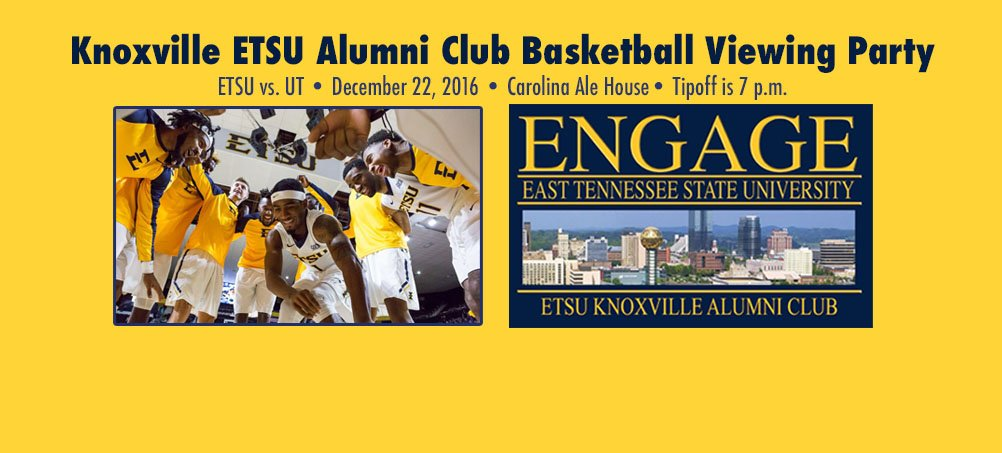 Knoxville ETSU Alumni Club Basketball Viewing Party