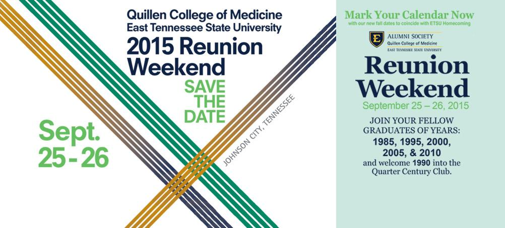 ETSU Quillen College of Medicine Reunion Weekend