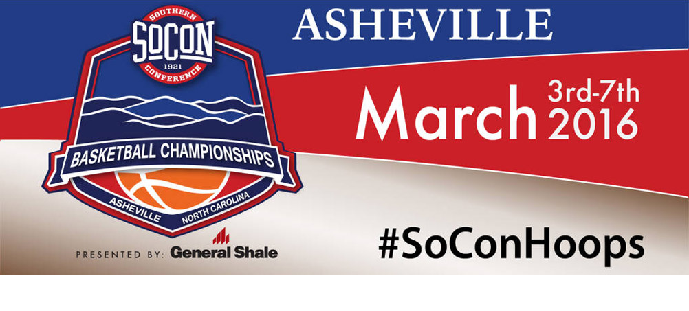 Join the Bucs in Asheville for the SoCon Basketball Championship Tournament