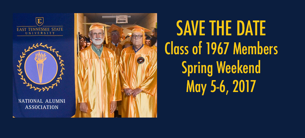 Class of 1967 - Spring Weekend Save the Day