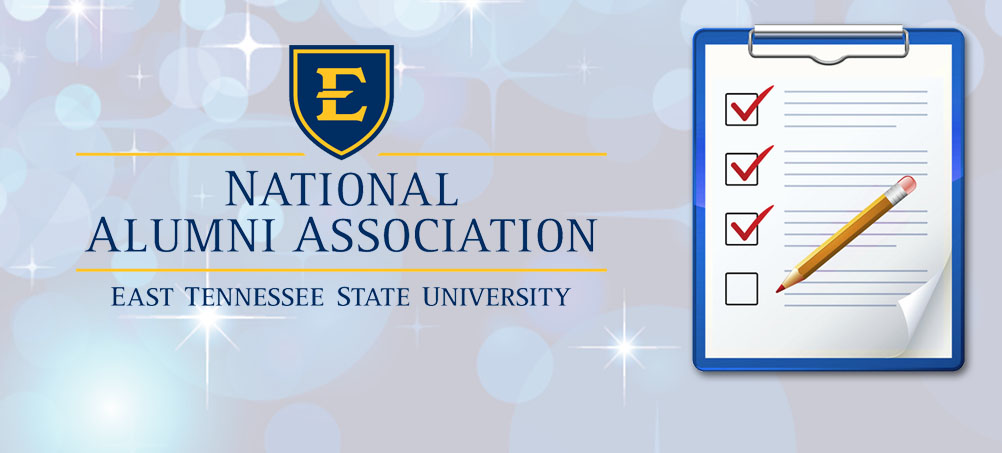 Have you filled out your ETSU Alumni survey?