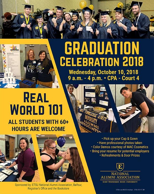 ETSU National Alumni Association - Graduation Celebration